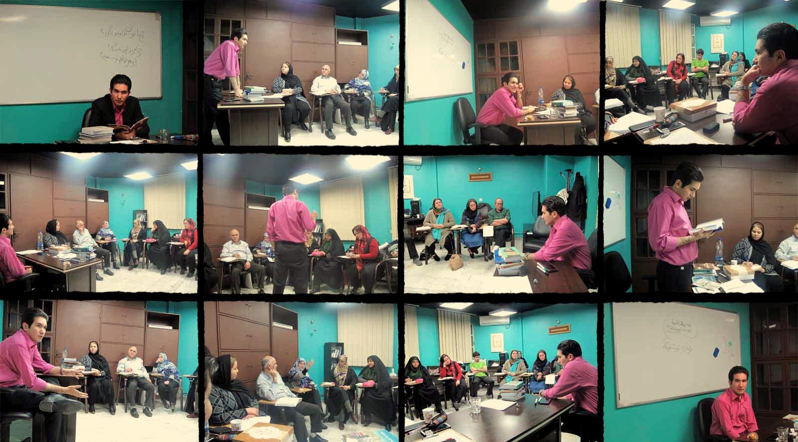 کلاس حضوری نویسندگی در تهران