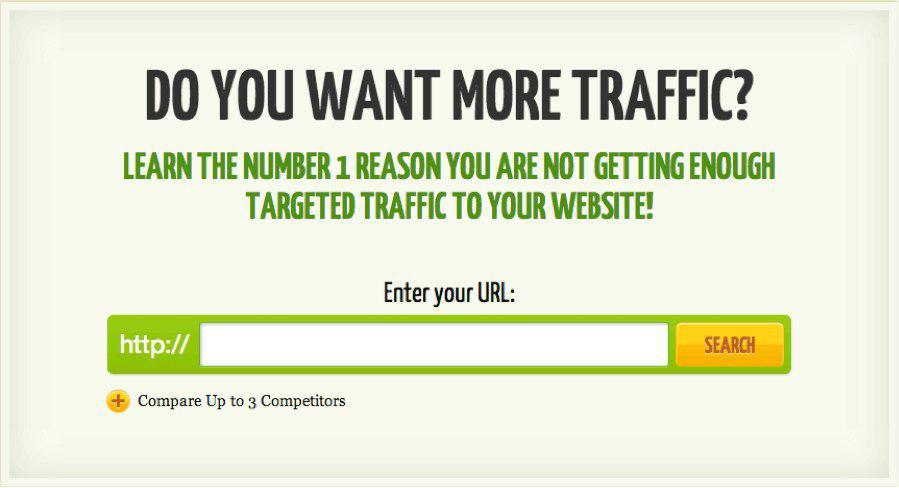 ترجمۀ عکس: آیا ترافیک بیشتری میخواهید؟